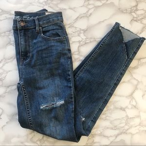 NWT Free People Sunny Distressed Skinny Size 25
